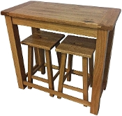 Willis & Gambier Originals Normandy Bar Table & 2 Stool Set